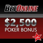 BetOnline Poker Review - Bonus 2500 USD for US Players