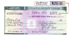 Money Order Example Format